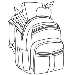 Backpack & Outline Vector Images (over 2,300)