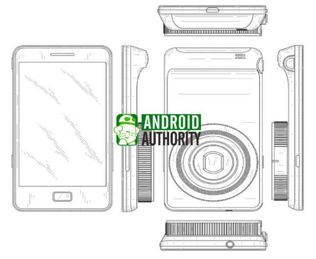 Samsung patents cover a curved smartphone design and