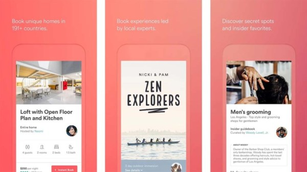 Airbnb (and similar apps)