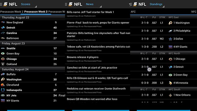The 9 best NFL apps for Android