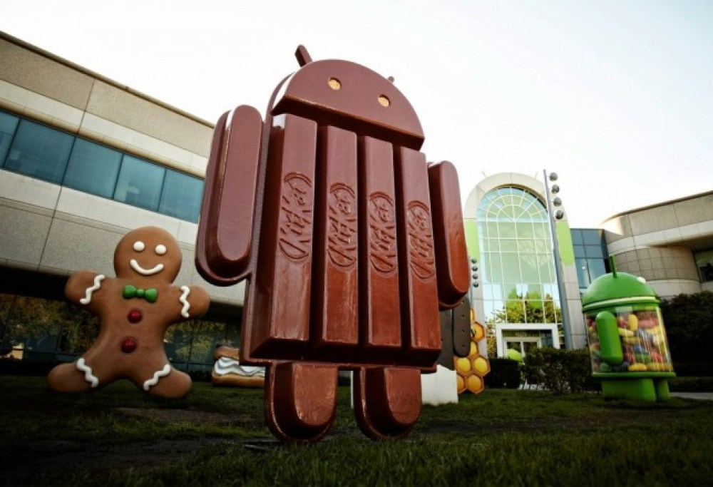 Android 4.4 kitkat Google HQ Mountain view