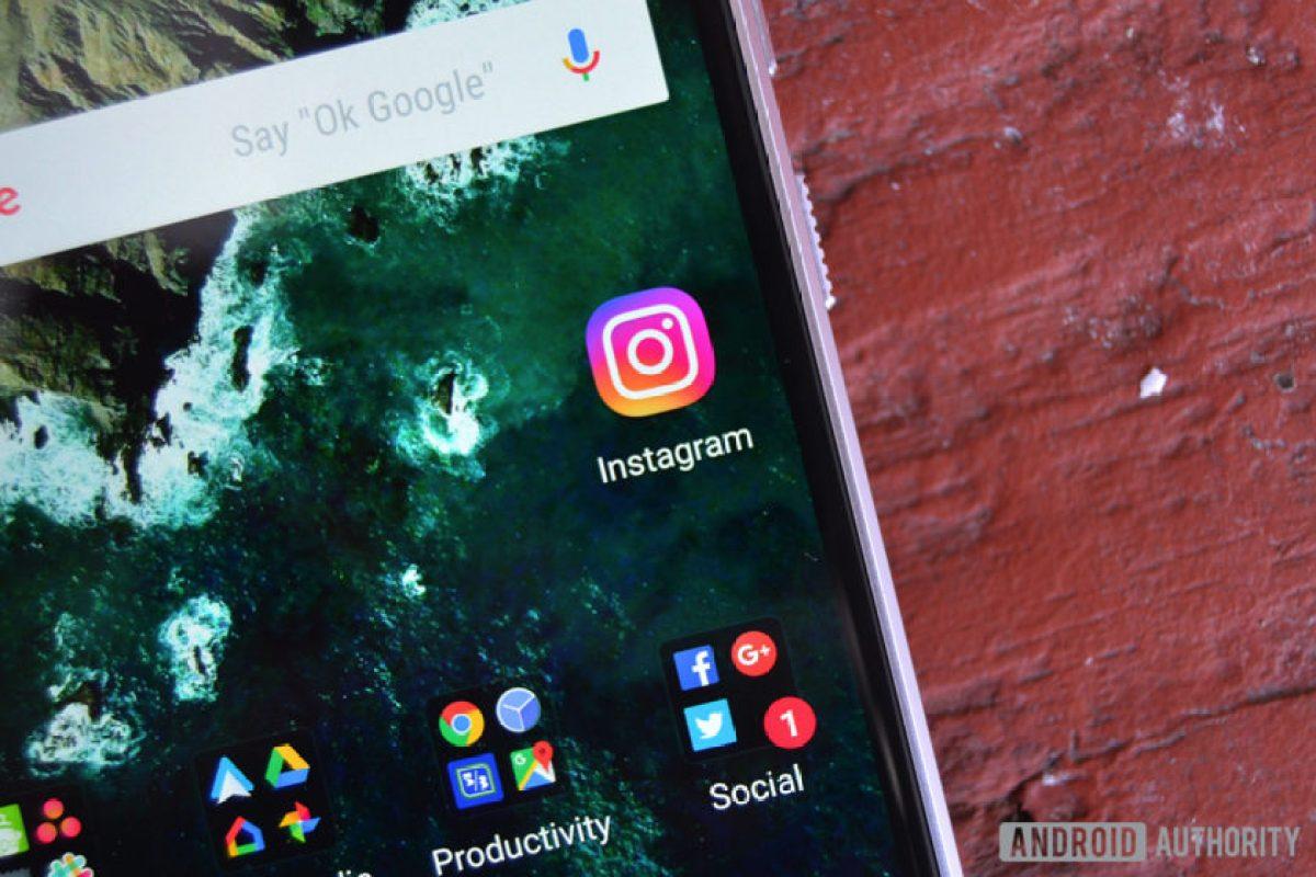 Значок Instagram на телефоне Android.