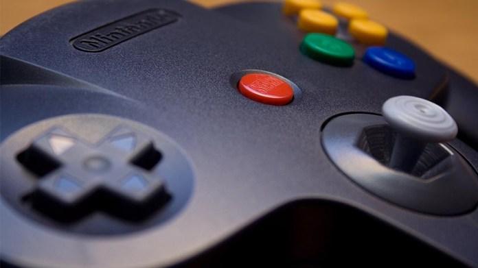 Nintendo 64 controller.