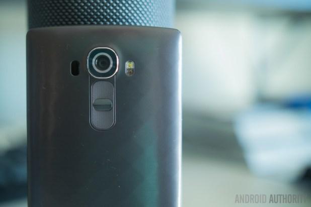 The LG G4.