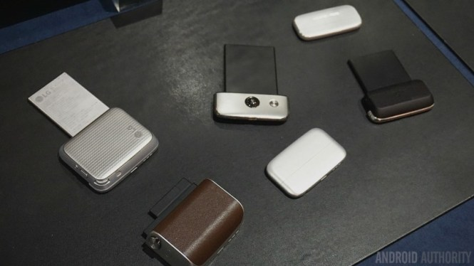 'Friends' for the LG G5 modular phone
