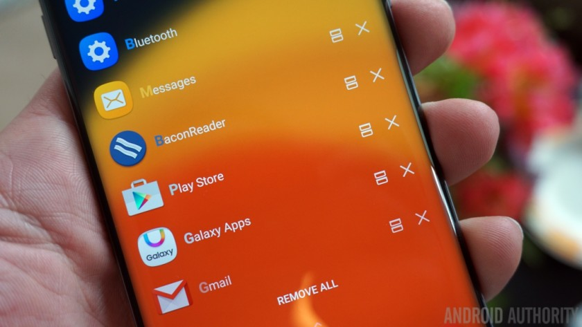 Samsung Good Lock recent apps