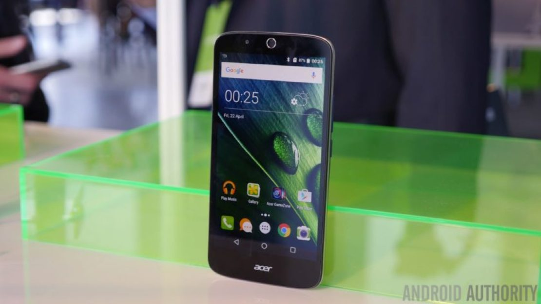 Acer Liquid Zest Plus - terrible phone names