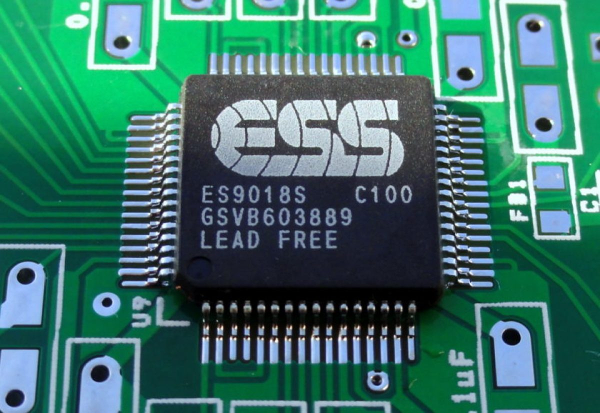 Фото ЦАП ESS 9018 от LG V10