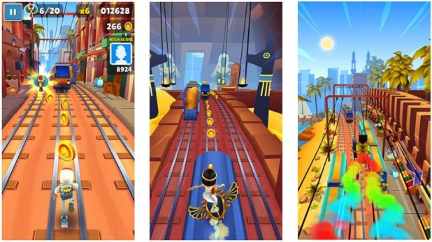 Subway Surfers - best games like temple run