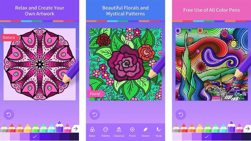 Adult Coloring Book App Review Dreamalittlebigger