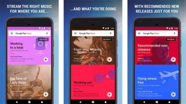 Your favorite music streaming apps