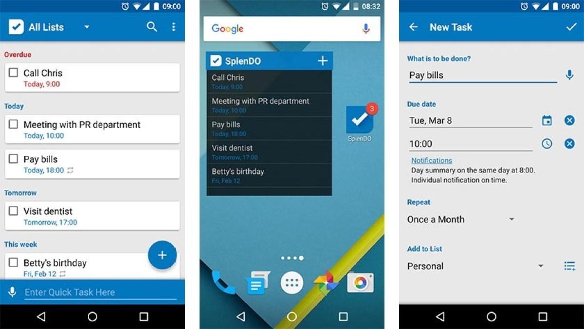 To Do List by Splend Apps - offline apps
