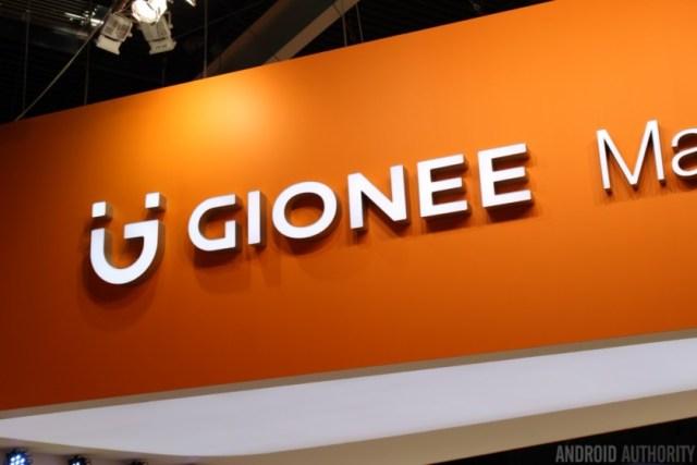 The Gionee logo.