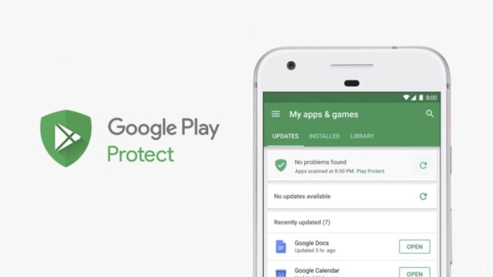 Image result for Google play protect