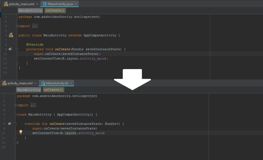 Руководство по Android для начинающих - Android vs Kotlin