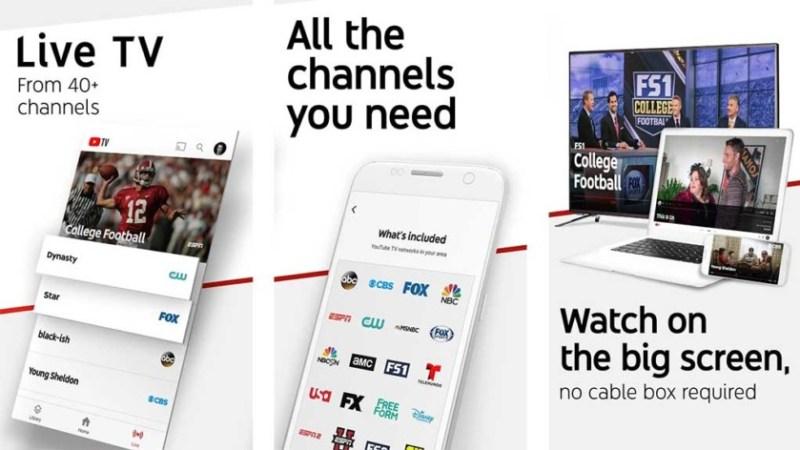YouTube TV (TV ao vivo)