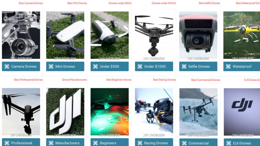 Best drones at Drone Rush