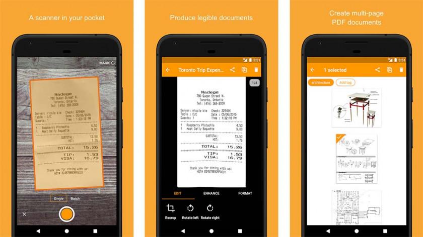 Genius Scan - best document scanner apps
