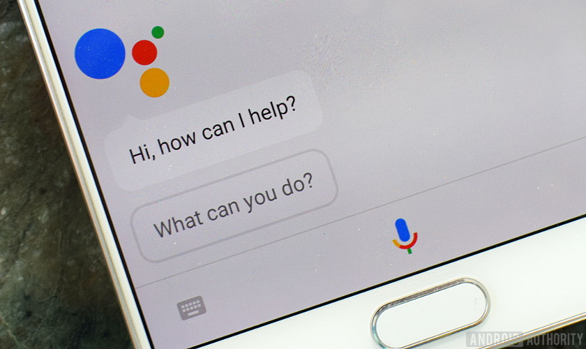 Google Assistant Hi