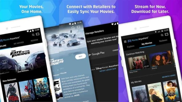 Best App of 2017: Movies Anywhere