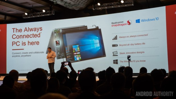 A Windows 10 PC powered by Snapdragon silicon.