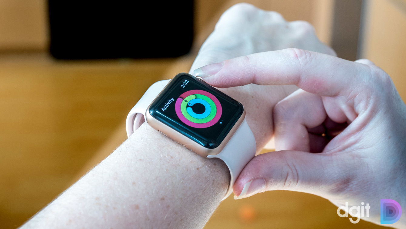 apple watch série 3 na lista de ofertas do rastreador de fitness