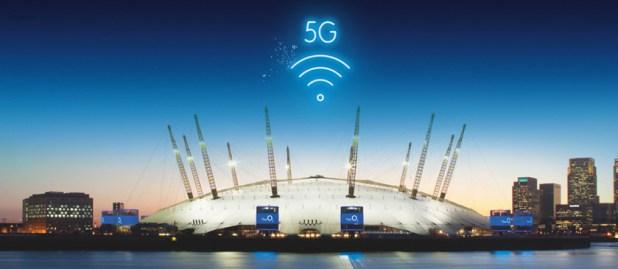 O2 arena 5G