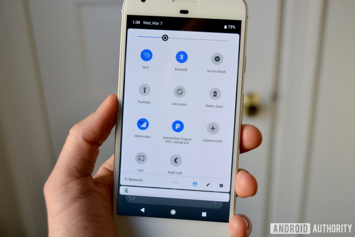 Image result for android p setting