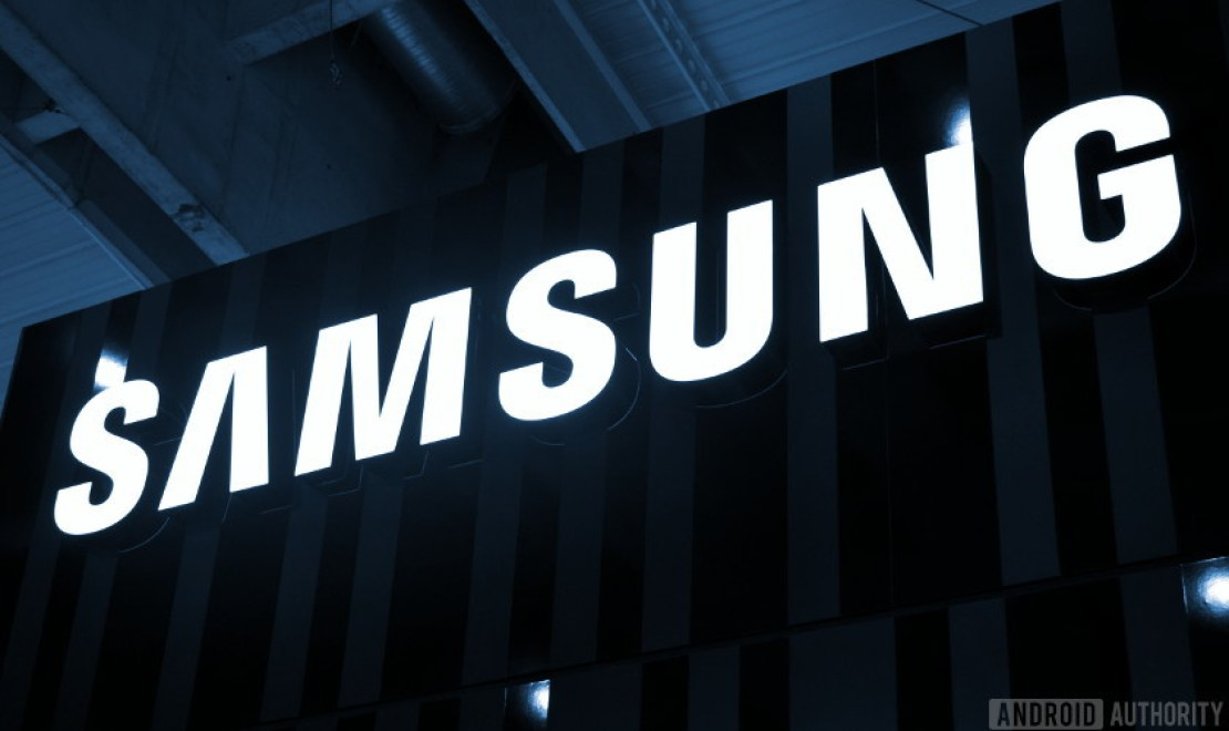 The Samsung logo.