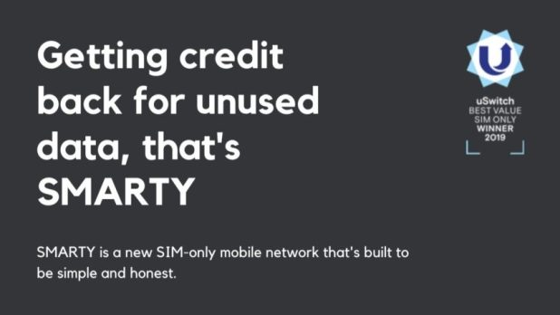 Smarty UK mobile network - best mobile network UK