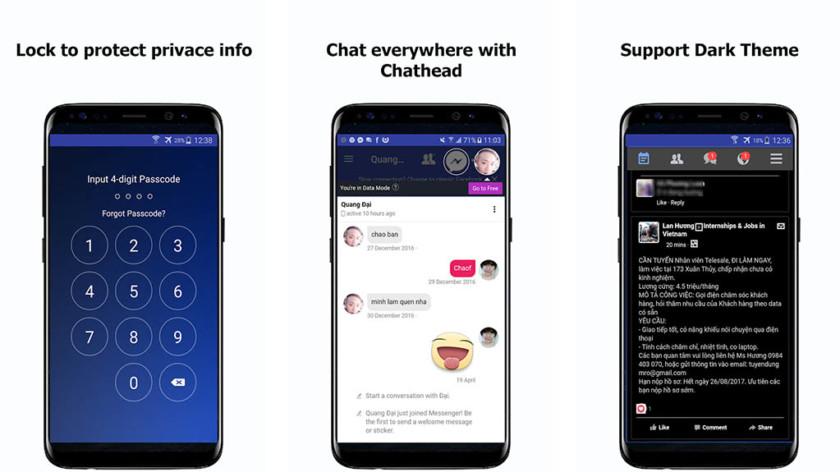 Быстрее - лучшие приложения для Facebook для Android