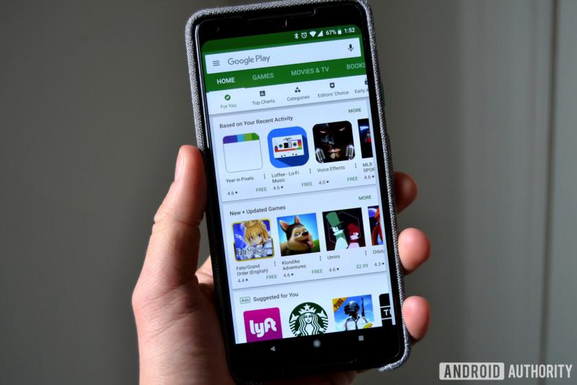 Google Play Store app Pixel 2 XL AA 3