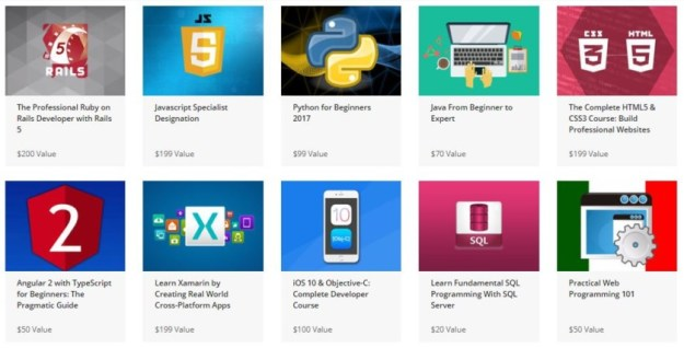 The Ultimate Learn to Code Bundle