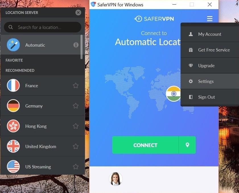 safervpn review windows app