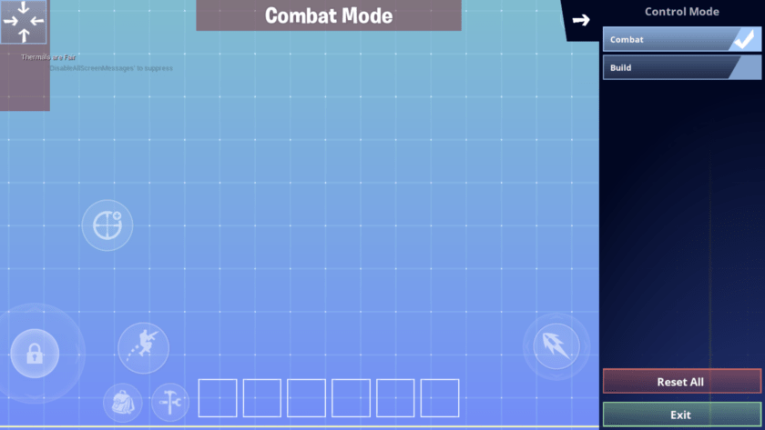 Fortnite Mobile HUD personalizado