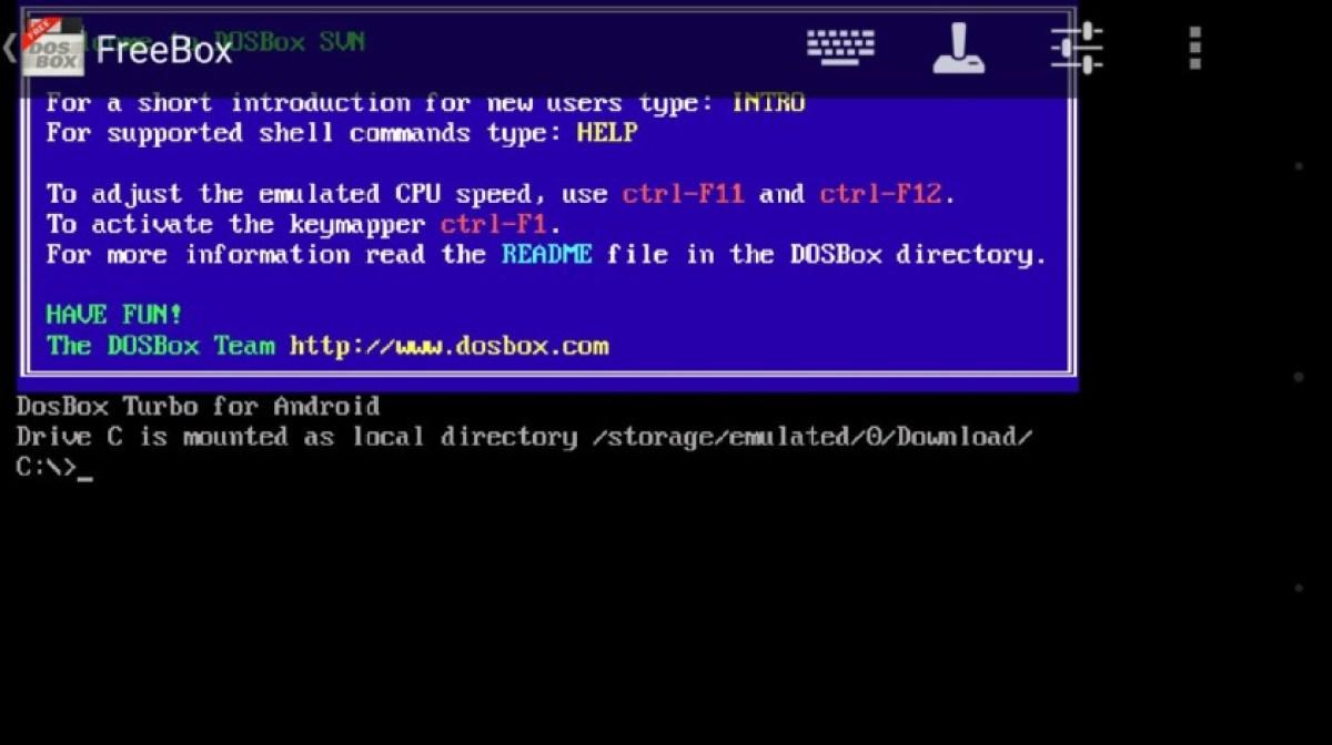 AFreeBox - программа для открытия exe файлов на Android