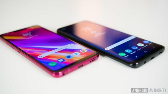 LG G7 ThinQ vs Samsung Galaxy S9 Plus