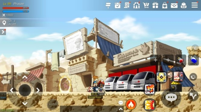 A screenshot of MapleStory M