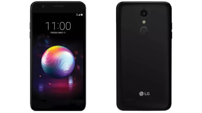 LG K30 back and front