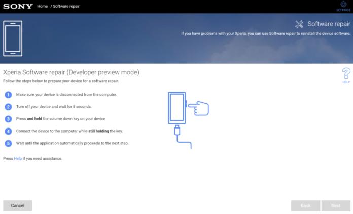 Sony Xperia XZ2 Android P Beta