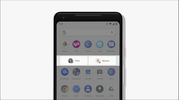 Google I/O app actions