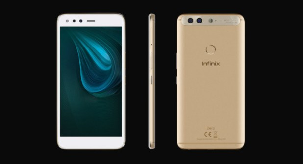 The Infinix Zero 5 smartphone.