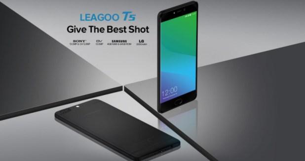 The Leagoo T5.