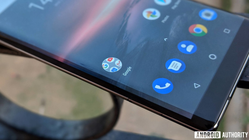 Nokia 8 Sirocco review - curved screen