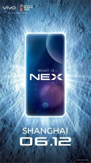 The invite to the launch of the new Vivo Nex phone in Shanghai.