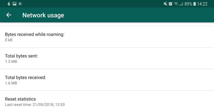 WhatsApp's data tracking tool - whatsapp tricks