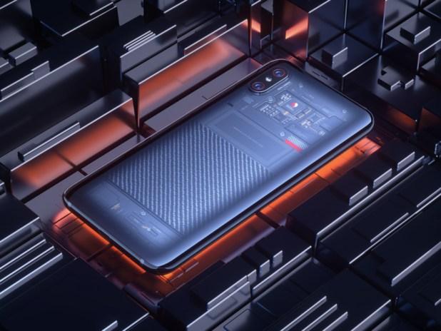 The Xiaomi Mi 8 Explorer Edition.