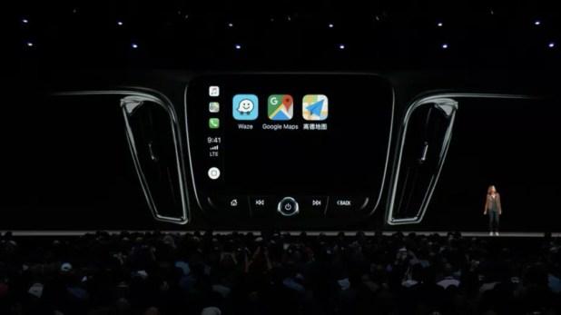 CarPlay Google Maps Waze