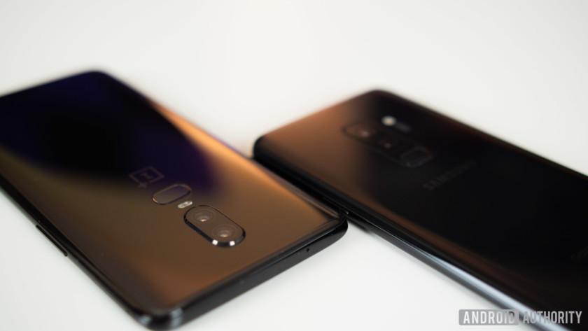 OnePlus 6 vs Samsung Galaxy S9 cameras