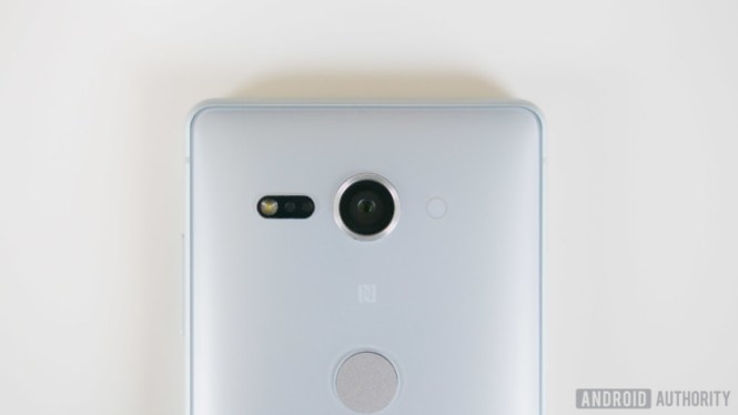Sony Xperia XZ2 Compact camera